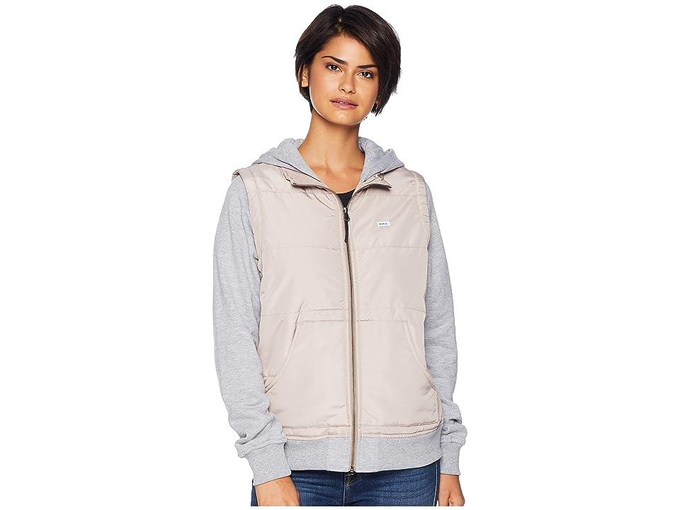 RVCA Eternal Quilted Fleece Jacket (Pavement) Women