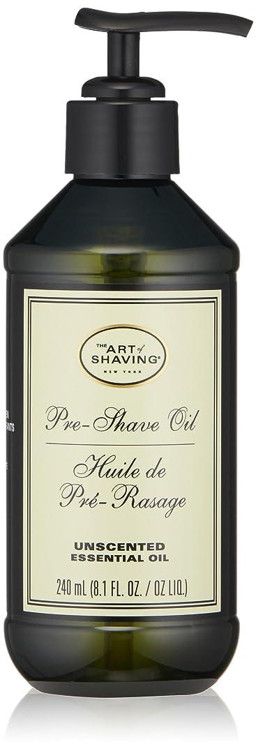 ジェムモットーシールドアートオブシェービング Pre-Shave Oil - Unscented (With Pump) 240ml/8.1oz並行輸入品