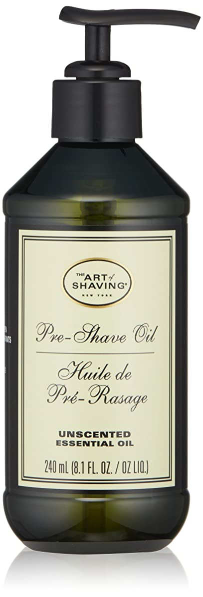 有利うがい切断するアートオブシェービング Pre-Shave Oil - Unscented (With Pump) 240ml/8.1oz並行輸入品