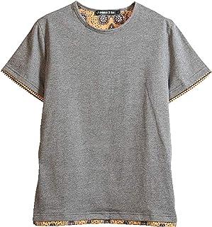 (Make 2 Be) クルーネック レイヤード Tシャツ メンズ ノームコア 半袖 MF49