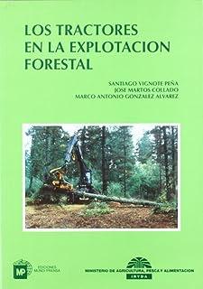Los tractores en la explotación forestal