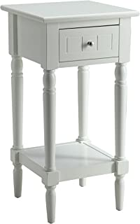 Best narrow white accent table Reviews