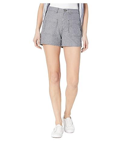 Vans Barrecks High-Rise Cutoffs Shorts (Dress Blues) Women