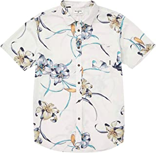 Billabong Men's Sundays Floral Short Sleeve Woven Shirt