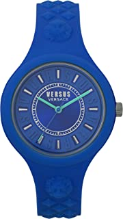Versus by Versace Women's Analogue Quartz Watch with Silicone Strap VSPOQ2618