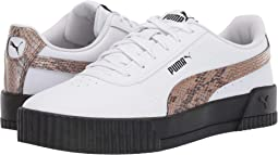 Puma White/Puma Black/Mocha Mousse