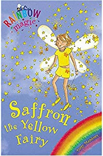 Rainbow Magic: The Rainbow Fairies: 3: Saffron the Yellow Fairy by Daisy Meadows - Paperback