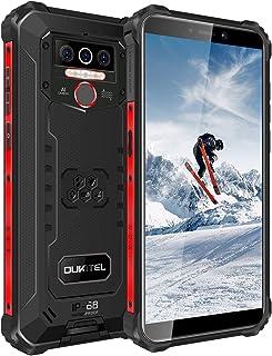 OUKITEL WP5 Pro SIMフリー スマートフォン Android 10.0 4GB RAM+64GB ROM スマホ本体 8000mAhバッテリー IP68&IP69K防水 防塵 耐衝撃性 アウトドアスマホ 本体 5.5インチ 13...