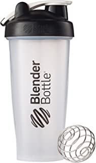 BlenderBottle Classic Shaker Bottle, 28 oz, Black