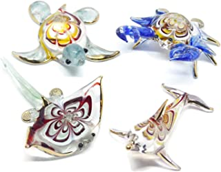small murano glass animals