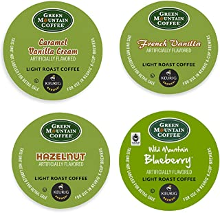Green Mountain Flavored Variety (22 K-cups) Keurig