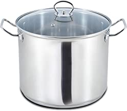 Homeway Stainless Steel Pot with Lid, 26 Cm, Hw-2309