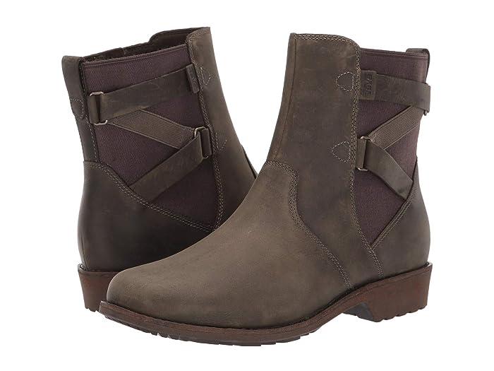 Teva  Ellery Ankle WP (Dark Olive) Womens Shoes
