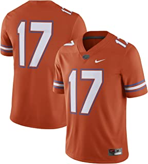Nike Florida Gators #17 Alternate Football Game Jersey - Orange