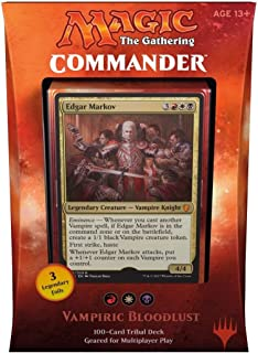 Magic The Gathering MTG Commander 2017 Deck - Vampiric Bloodlust