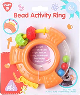 PlayGo Bead Activity Ring Toy - Multicolor