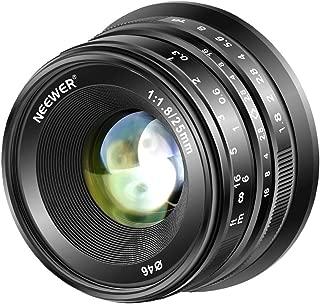 Neewer 25mm F1.8 APS-C大口径広角レンズ マニュアルフォーカスレンズ Sony EマウントミラーレスカメラA7III A9 NEX 3 3N 5 NEX 5T NEX 5R NEX 6 7 A6400 A5000 A5100 A6000 A6100 A6300 A6500に対応