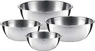 WMF 福腾宝厨房餐具套件 美食 4 件套 Cromargan 不锈钢 无锈 18 / 10 适用于洗碗机清洗