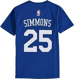 Reebok Div. / Outerstuff Youth Simmons Royal Sixers Name/# Tshirt Royal YXL