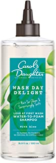 Aloe and Micellar Water Sulfate Free Shampoo | Love at First Wash Water to Foam Micellar Shampoo | Wash Day Delight by Car...
