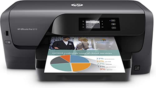 HP OfficeJet Pro 8210 Wireless Color Printer, HP Instant Ink Ready (D9L64A#B1H) (Printer Only)