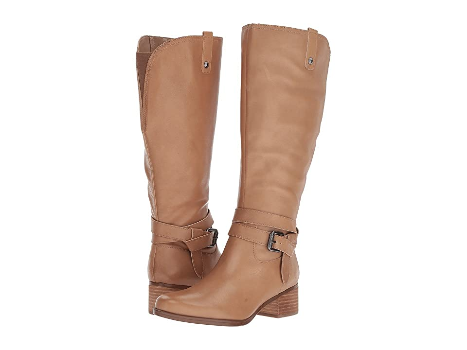 Naturalizer Dev Wide Calf (Oatmeal Leather) Women