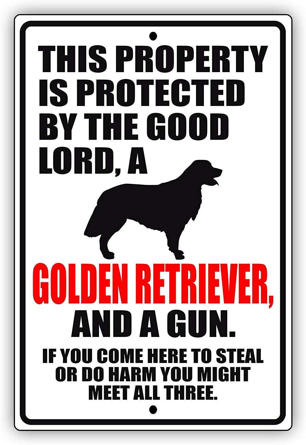 This Property is Protected by The Retriever Louisville-Jefferson County Mall Uni Same day shipping Good Golden Lord