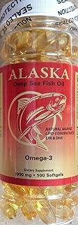 1 NCB Alaska Deep Sea Omega 3 Fish Oil 100caps EPA DHA