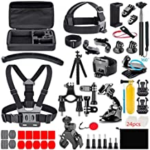 Zubehör für Gopro, Action Kamera Zubehör-Kit 70-In-1 für Gopro, DJI AKASO APEMAN Campark SJCAM Actionkamera usw, in Schwim...