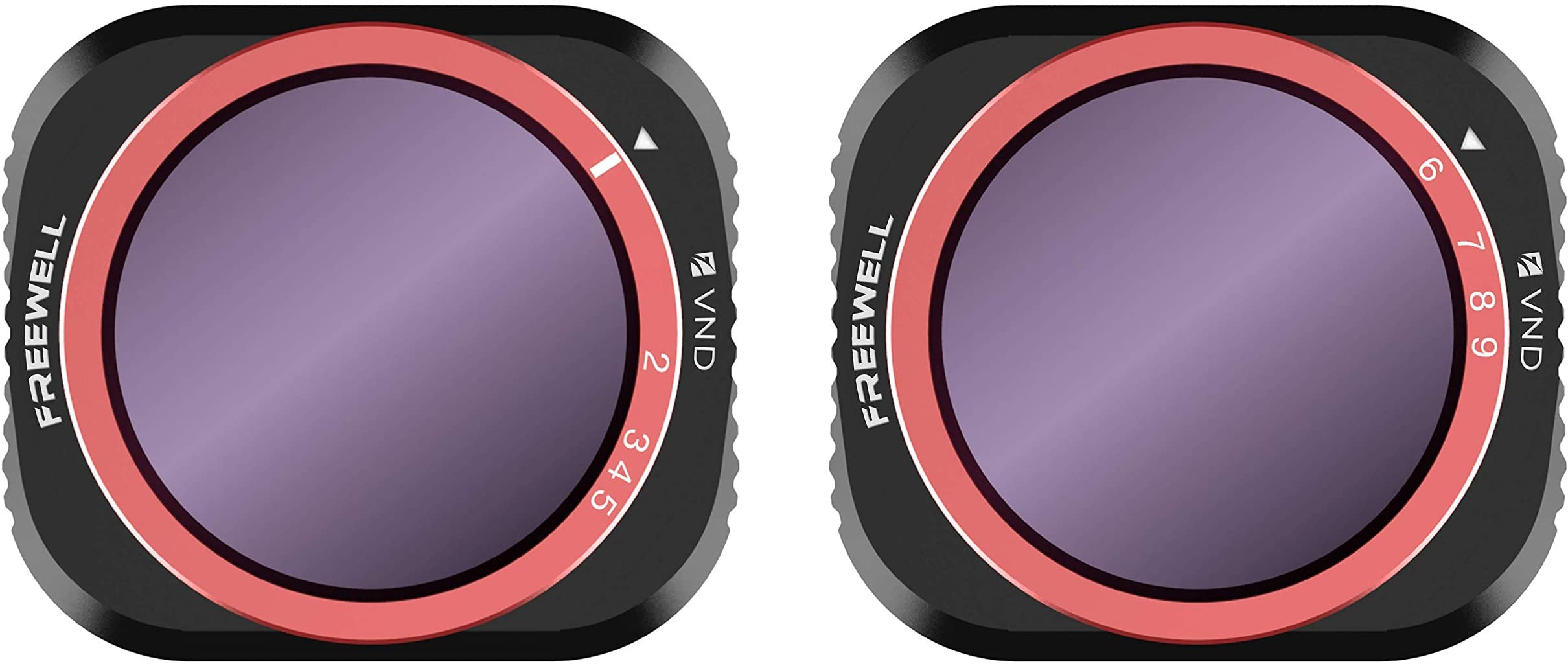 Freewell Variable ND 2-5 Stop, 6-9 Stop 2 Pack VND Filters Compatible with Mavic 2 Pro Drone