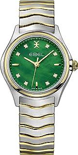 EBEL Ladies 1216440 Wave 18K Gold & Steel Swiss Quartz Watch