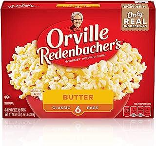 Orville Redenbacher's Butter Popcorn, 3.29 Ounce Classic Bag, 6-Count