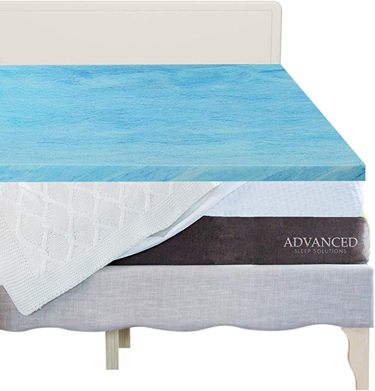 3 Inch Gel Memory Foam Mattress Topper Twin XL CertiPur US Approved Twin Extra Long Size Memory Foam Mattress Topper Comfortable Medium Soft Toppers For Twin XL Bed USA Made 3 Year Warranty
