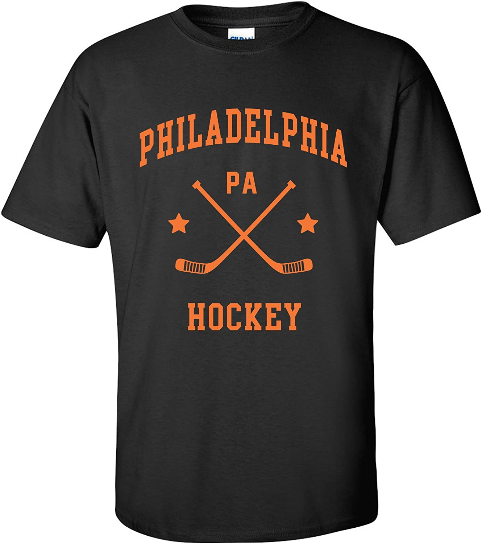 Classic Hockey Arch Basic Cotton T-Shirt