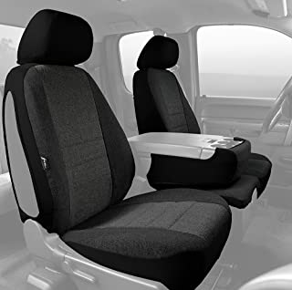 Fia OE38-31 CHARC Custom Fit Front Seat Cover Split Seat 40/20/40 - Tweed, (Charcoal)