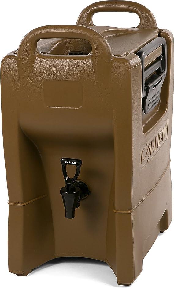 Carlisle IT25043 Cateraide IT Insulated Beverage Server / Dispenser, 2.5 Gallon, Caramel