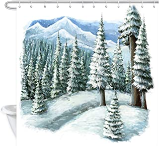 Best winter scene fabric Reviews