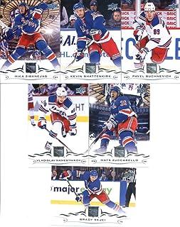 2018-19 Upper Deck Hockey New York Rangers Veteran Team Set of 6 Cards  988463917