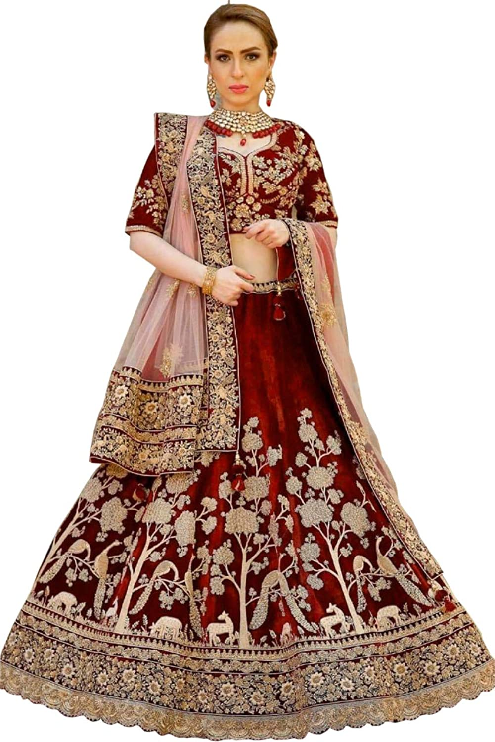 Bridal lehenga choli dream exporter 1055