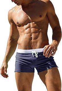 6e10876c4f Imixcity Maillot de Bain - Homme Boxer Trunks Shorts Pantalon Court de  Sport Plage Mer Loisir