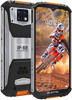 OUKITEL WP6 SIMフリースマートフォン 防水防塵耐衝撃防災 10000mAhバッテリースマホ本体 6GB RAM 128GB ROM 48MP AI 3カメラHelio P70オクタコアプロセッサー6.3インチFHD+ 画面2340...
