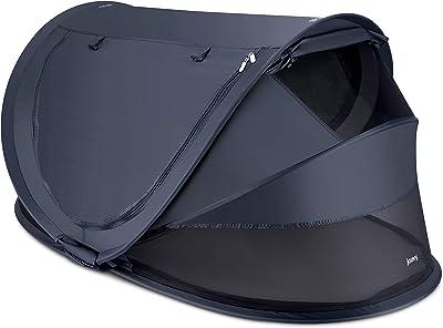 Joovy Gloo Infant Travel Bed Large, Forged Iron