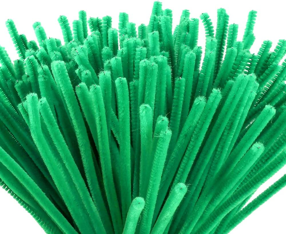 High order Caydo 200 Pieces Green Pipe Cleaners for Art Craft Dedication DIY De