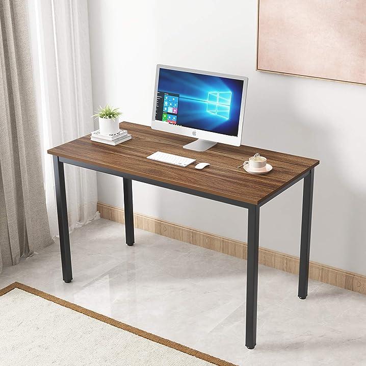 Scrivania per computer 120x60cm tavolo per computer ufficio postazioni di lavoro scrivania pc sogesfurniture B07Z5ZMP16