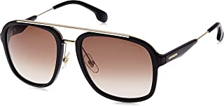 Carrera Unisex-Adult's 133/S HA Sunglasses, Black Gold, 57