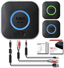 AptX HD y Baja latencia Receptor Bypass 3 en 1 Sistema est/éreo para el Coche y el hogar Adaptador de Audio inal/ámbrico para TV PC SZMDLX Receptor transmisor Bluetooth 5.0 Digital /óptico