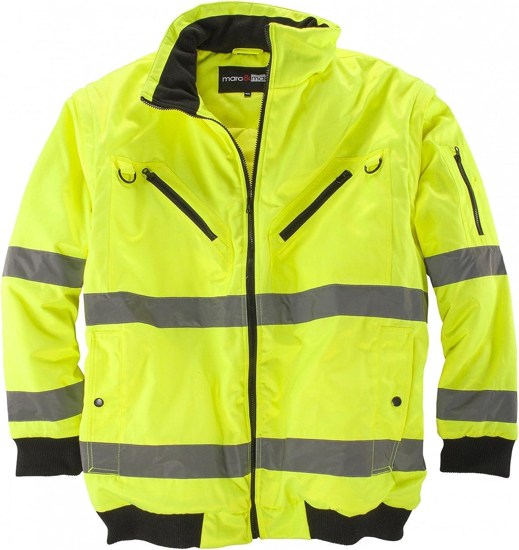 Abraxas Arbeits Jacke Weste In Übergröße Gelb Bekleidung
