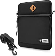 tomtoc 11 Inch Tablet Shoulder Bag for 11 Inch New iPad Pro, 10.5 Inch New iPad Air 2019, 10.5 iPad Pro, 9.7 iPad, Microsoft Surface Go, Samsung Galaxy Tablet, Fit Apple Pencil and Smart Keyboard