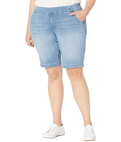 Jag Jeans Plus Size Gracie Pull-On Bermuda Shorts Women