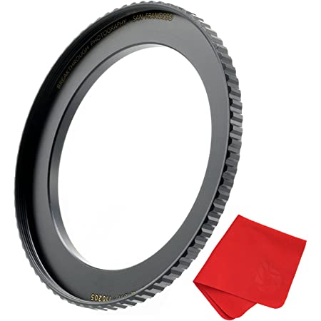 8 Metal Step Up Lens Filter Ring Stepping Adapter Set Exquisitely Designed Durable